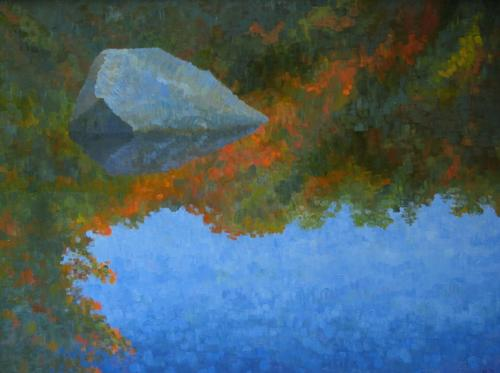 Fancher Road Series - Floating Rock