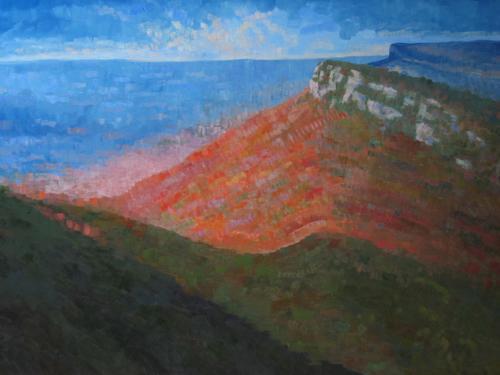 Shawangunk Series: Sunrise from Eagle Cliff