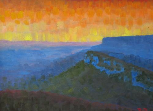 Shawangunk Series: Sunset from Sky Top