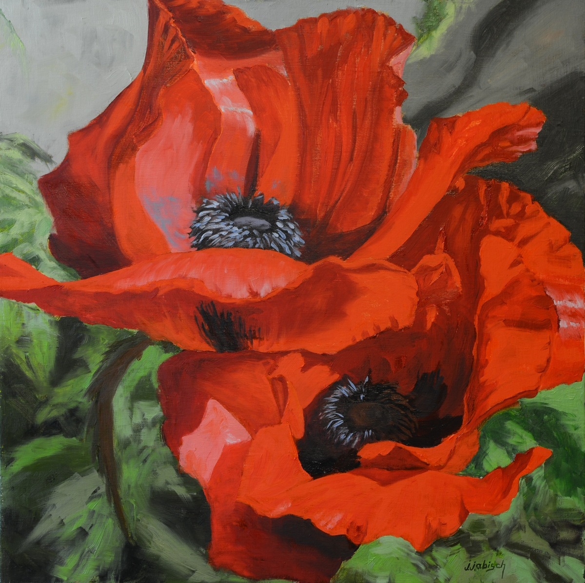 Oriental Poppies (large view)