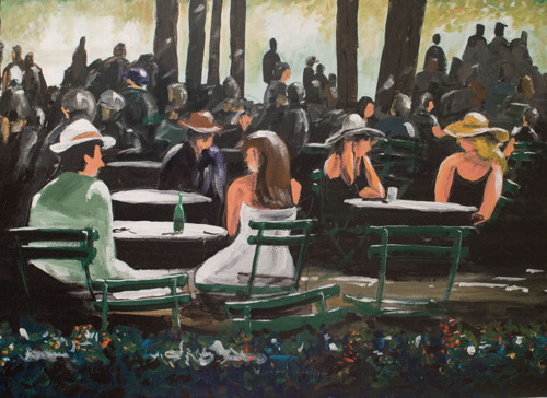 Lunch at the park by The Cannon Art Studio