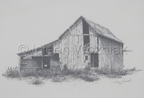 """Old Barn"" by Joleen Wozniak"