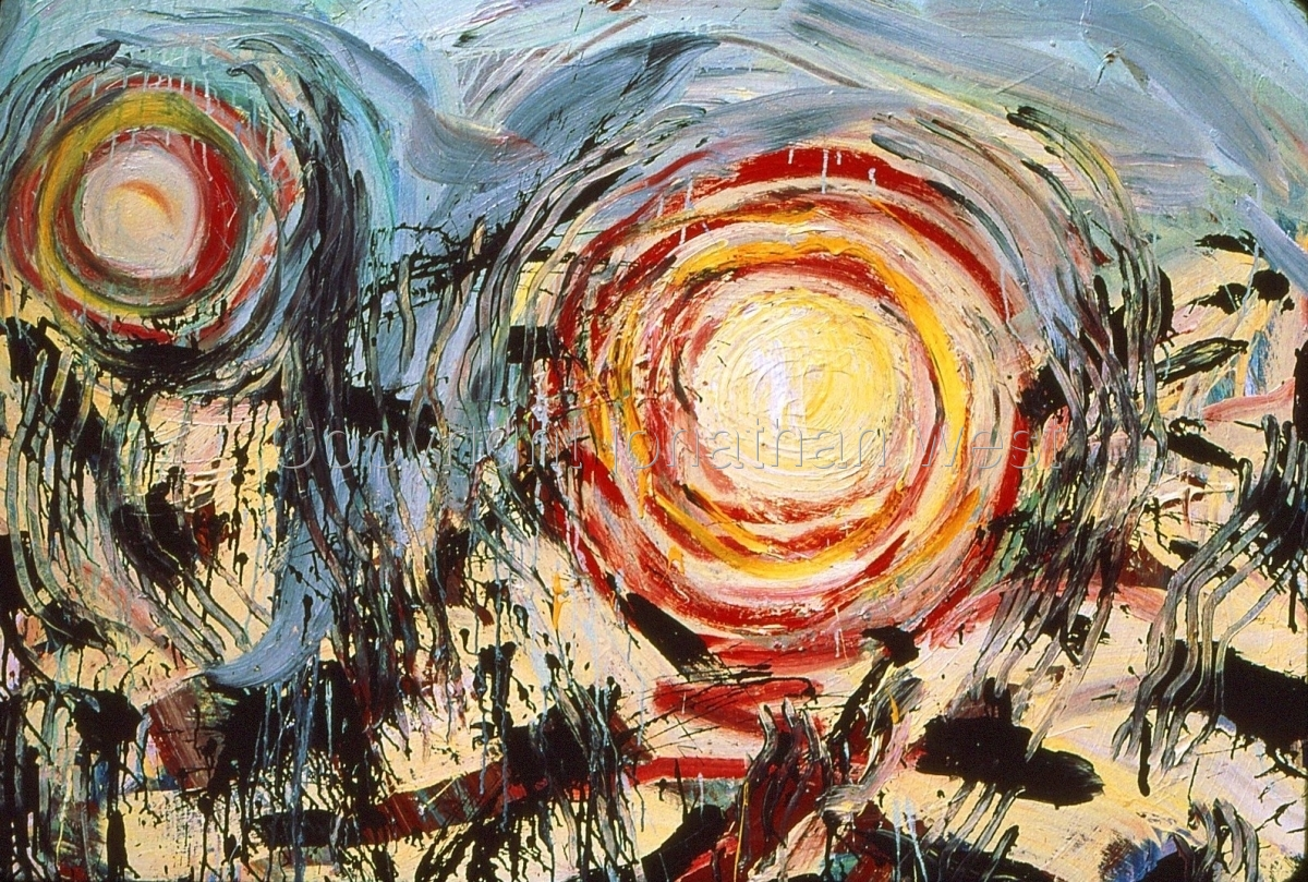 Image result for earthquake  painting
