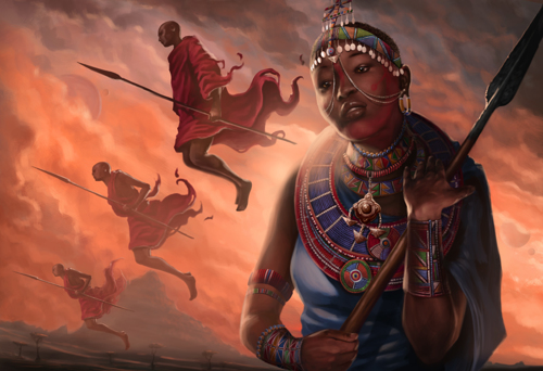 Maasai - Altitude