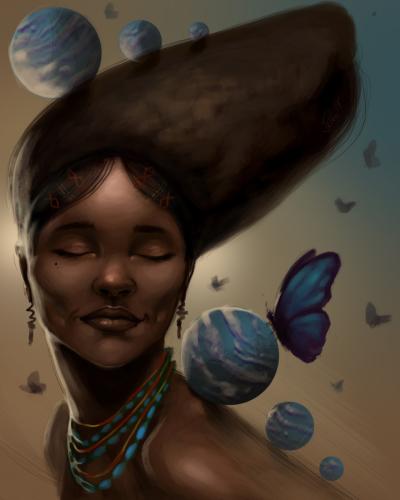 Meditate in beauty