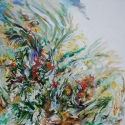 contemporary, floral, painting,kinnebrew,botanical, abstract - Floral Painting