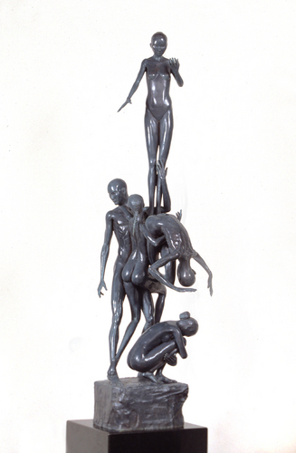 Five Figures, 2002 (large view)