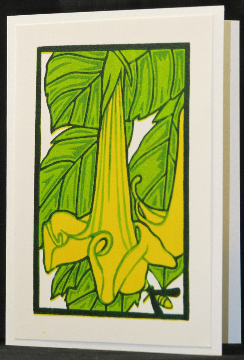 angel trumpet/card (large view)