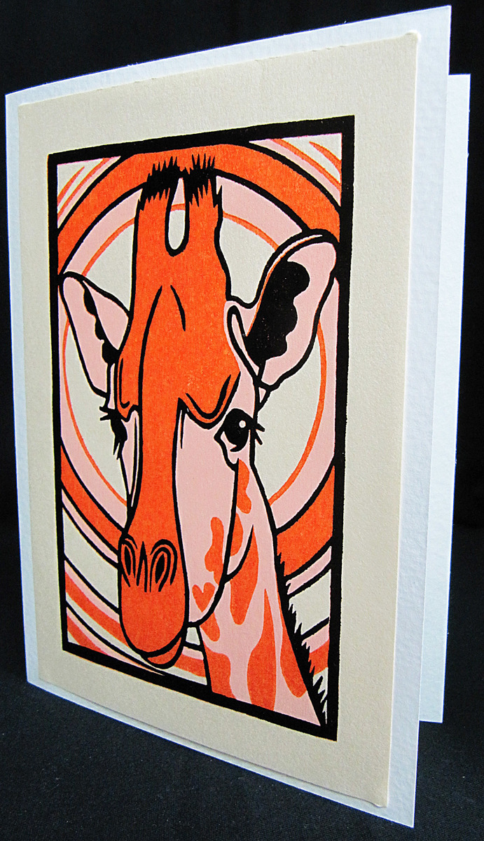 Giraffe/card (large view)