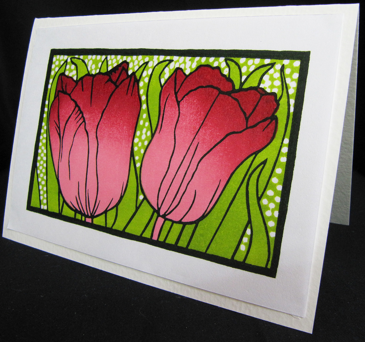 Red Tulips/card (large view)