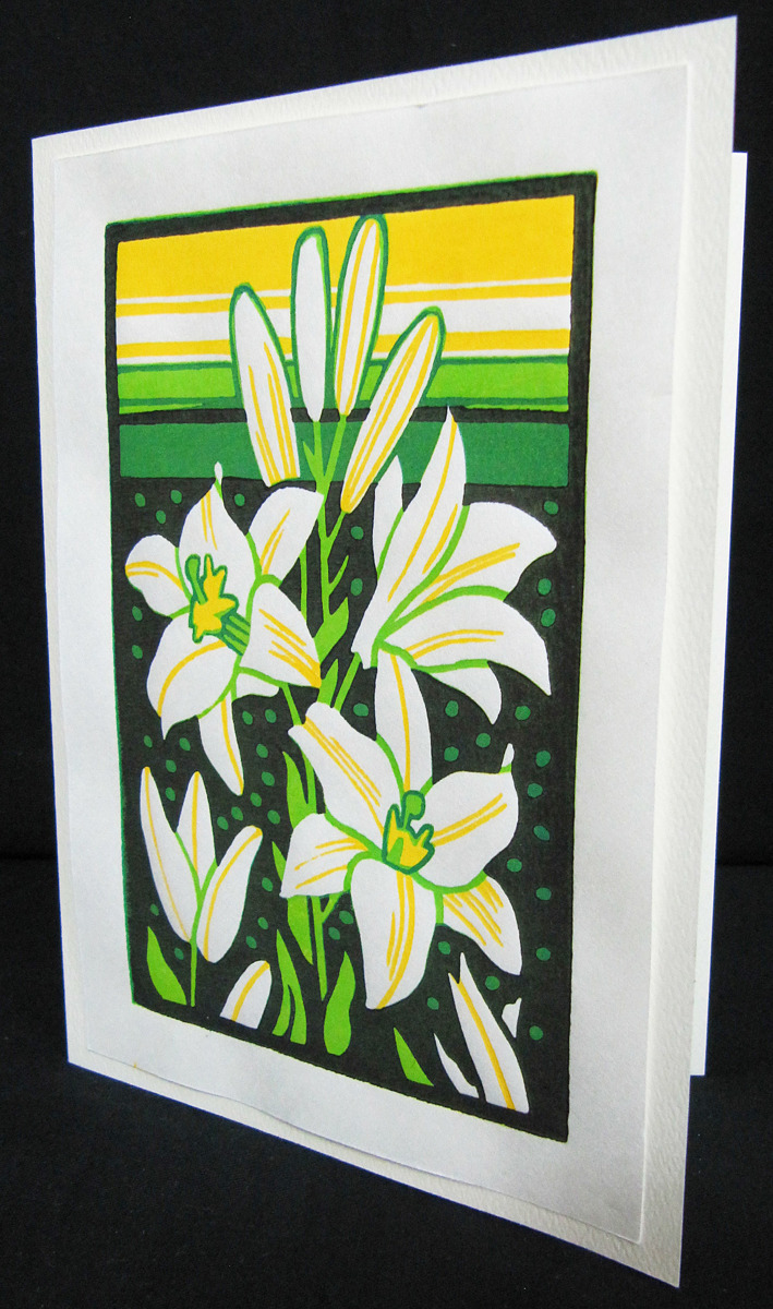 White lilies (large view)