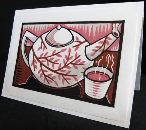 teapot/card by Joseph Vorgity