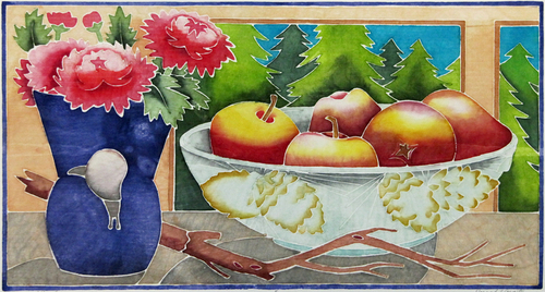 Mums and Apples (large view)