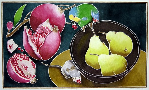 Pears and Pomegranates (large view)