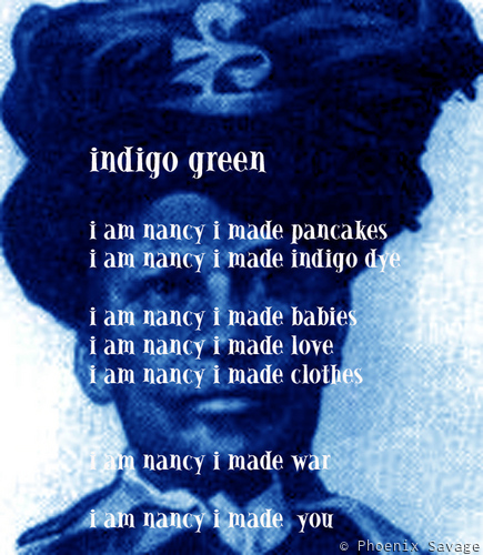 Indigo Green (text)
