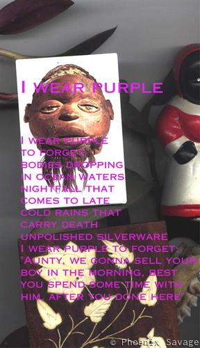 I Wear Purple (text)