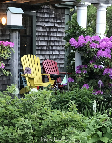 Porch Chairs in Provincetown