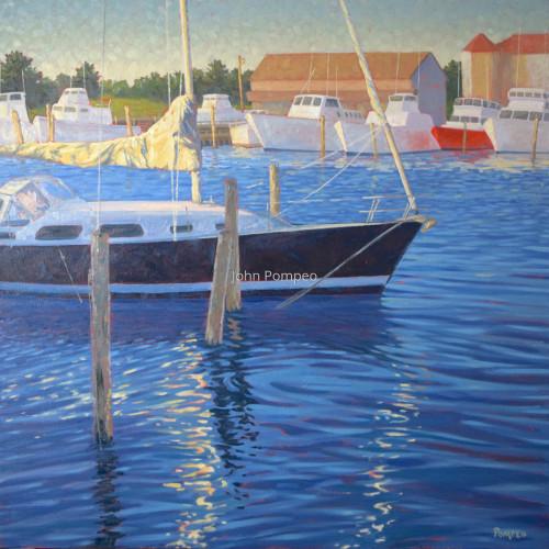 Evening Harbor
