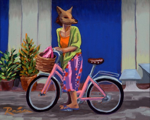 The Pink Bike by Jennifer Rain Crosby