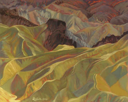 Zabriskie Badlands