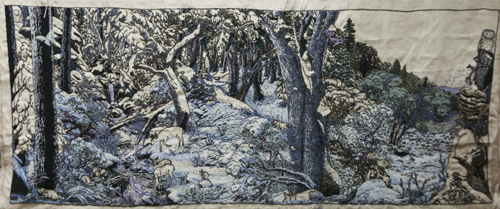 The Forest, stitched