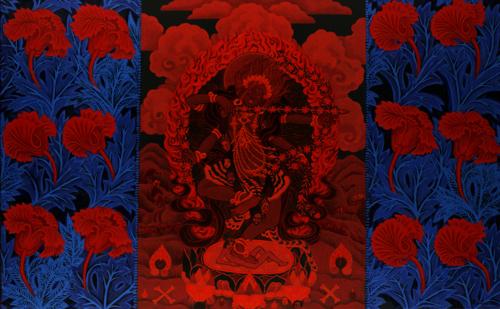 Red Blossom Kurukulle