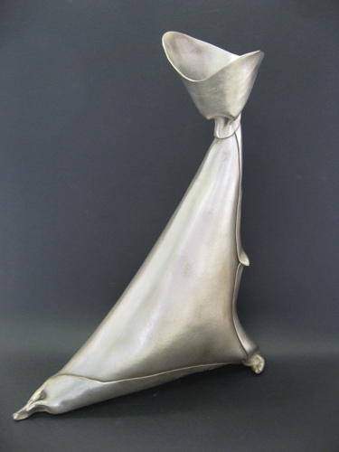 Silver Dancer (Bronze) by Joan Rosenberg-Dent