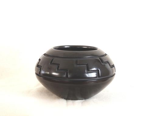Rug Design Bowl by Jeff Roller Pottery & Sculpture