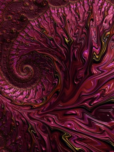 Magenta Ruching by Janus Rose