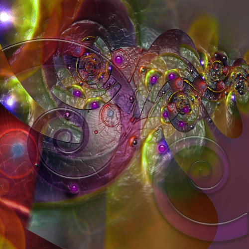 Faux Encaustic by Janus Rose