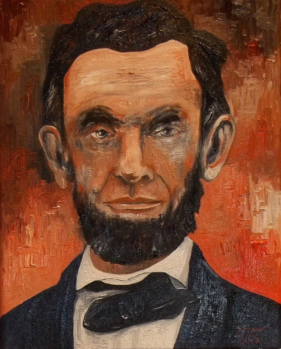 Portrait of Abraham Lincoln (large view)