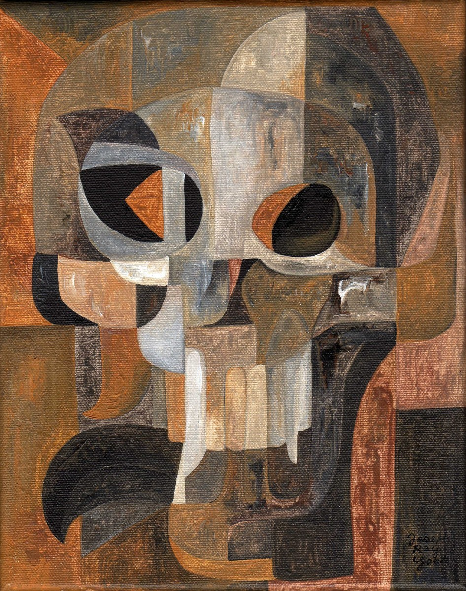Abstract Skull #103 (large view)
