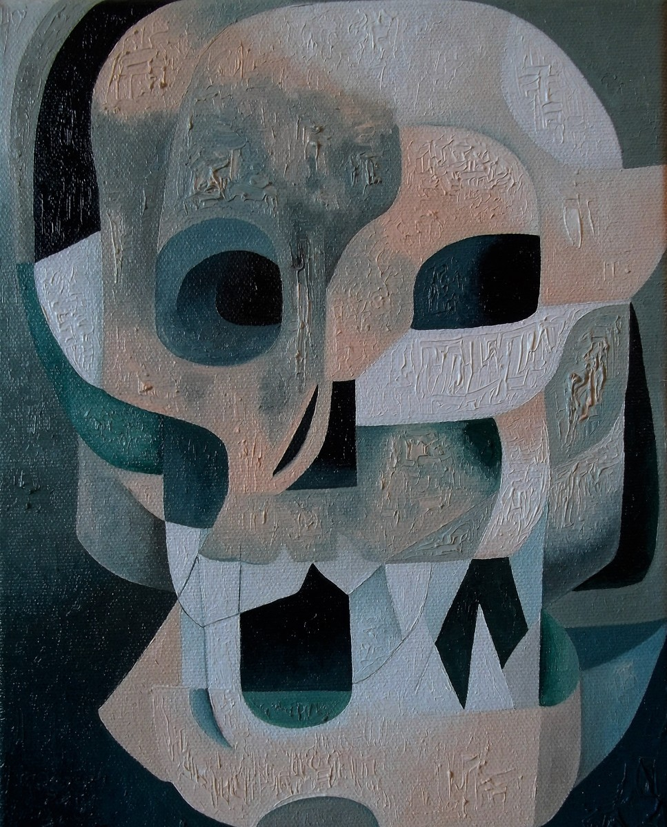 Abstract Skull #96 (large view)