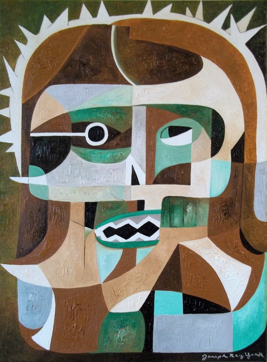 Abstract Head of Christ (large view)