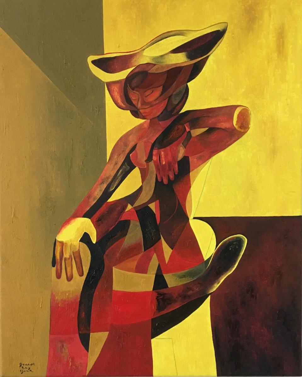 Mujer en un Sombrero (large view)