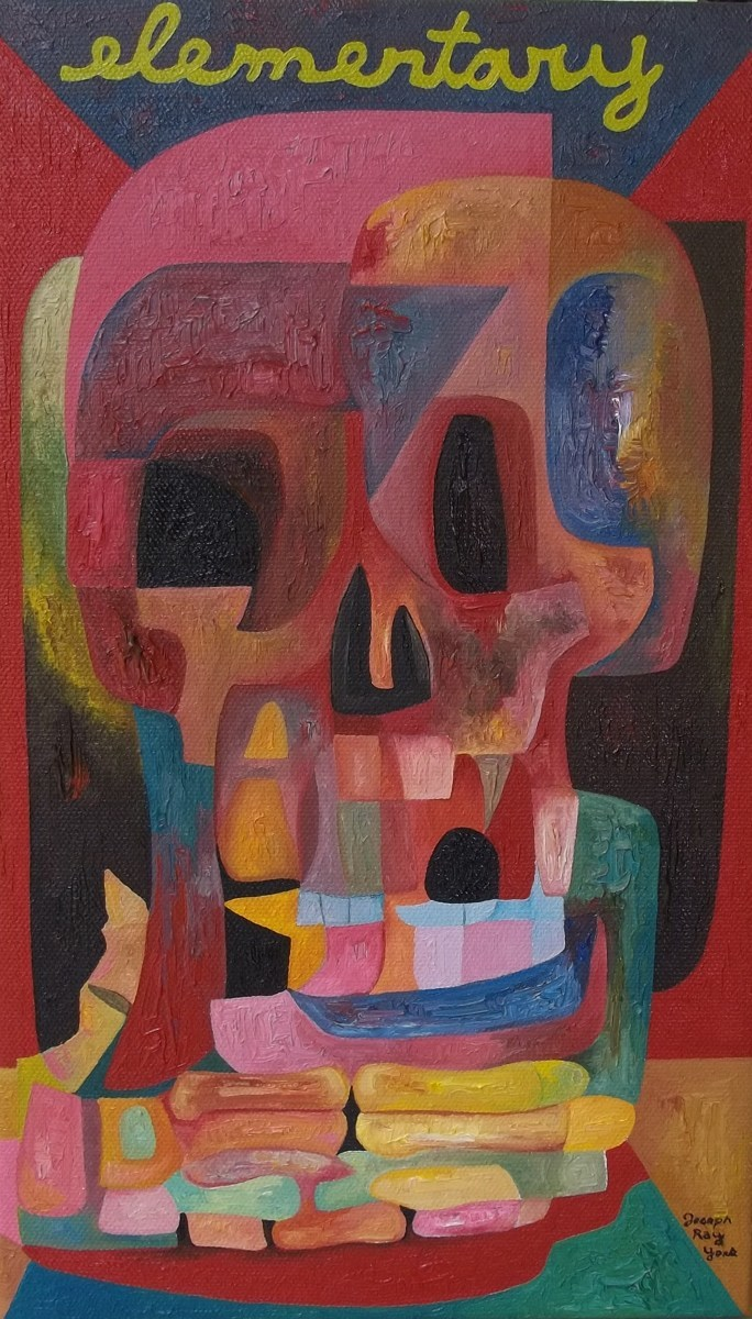 Abstract Skull #182 (Elementary) (large view)