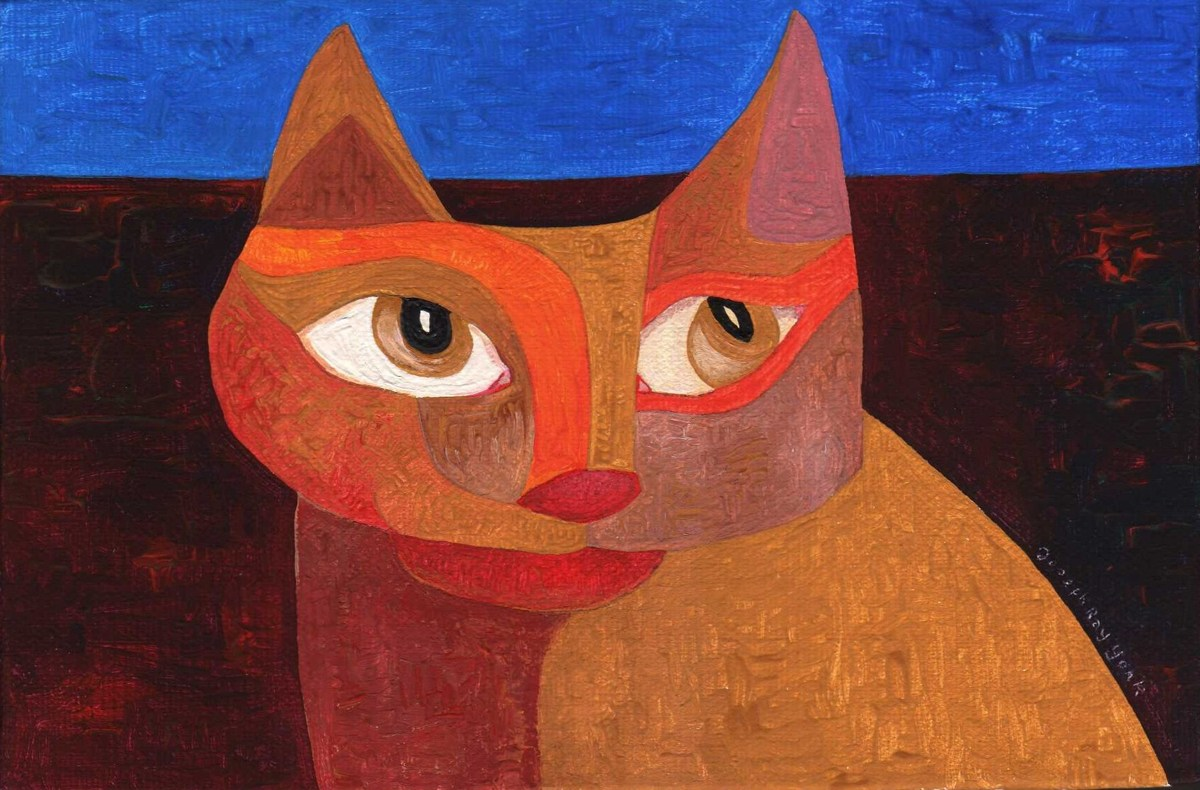 Abstract Cat #52 (large view)