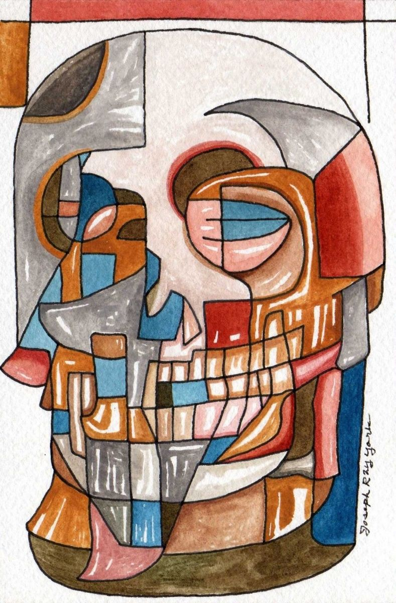 Abstract Skull #225 (large view)