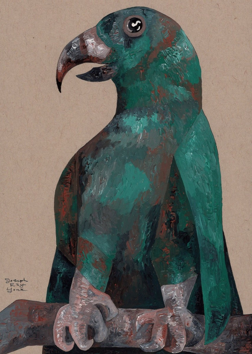 Fierce-Looking Bird (large view)