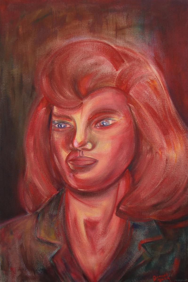 Portrait of Carla (large view)
