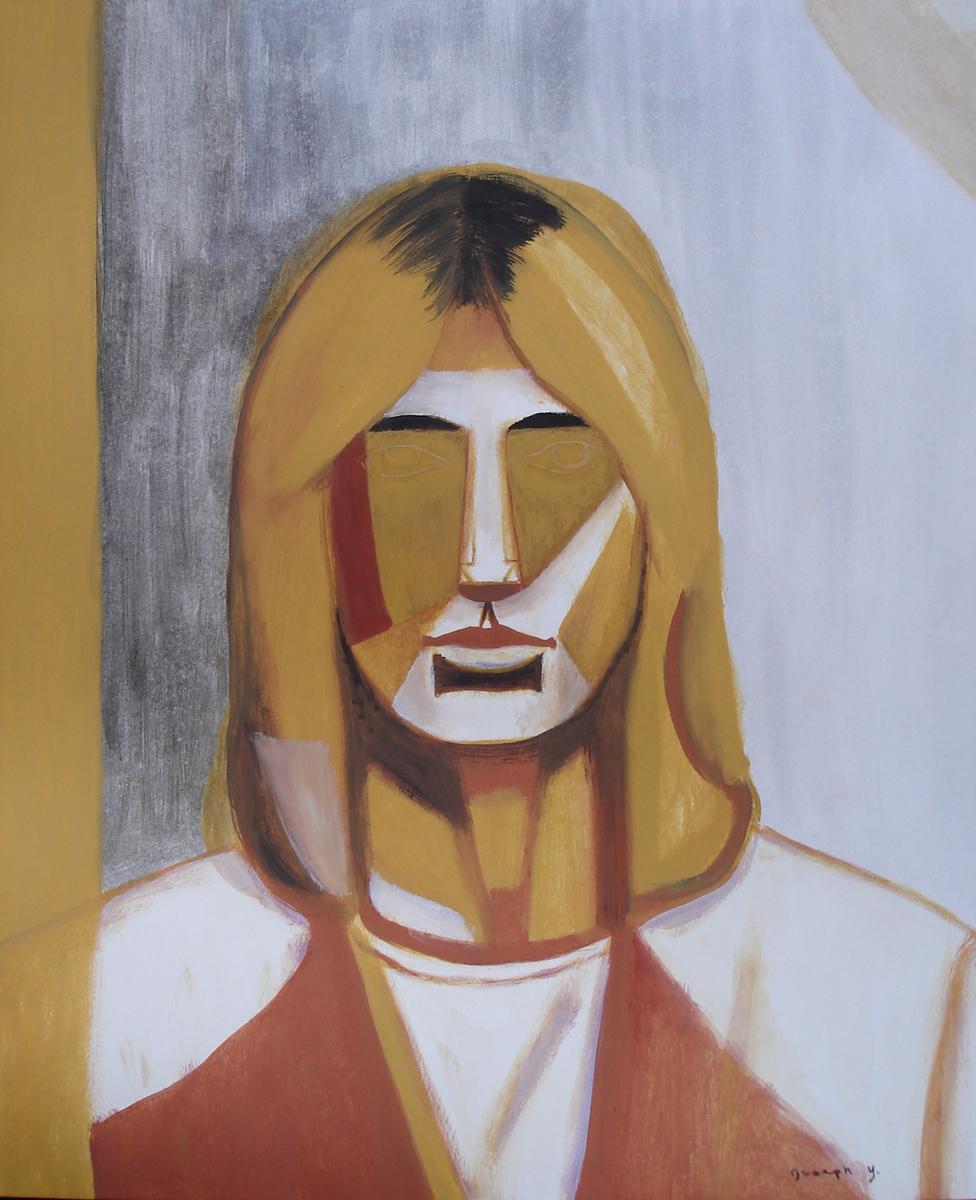 Yellow Self-Portrait (large view)