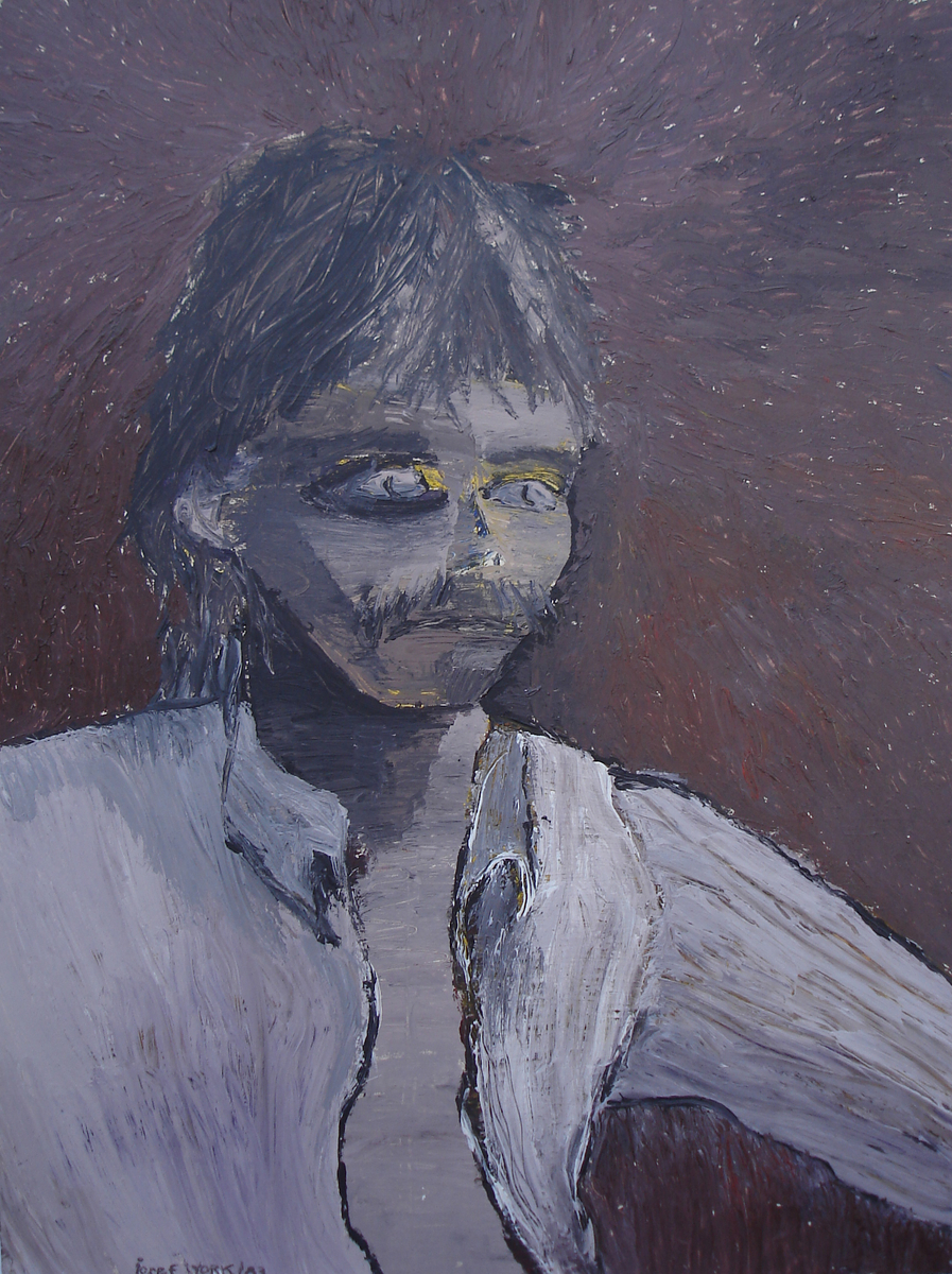 Self-Portrait Painting (large view)