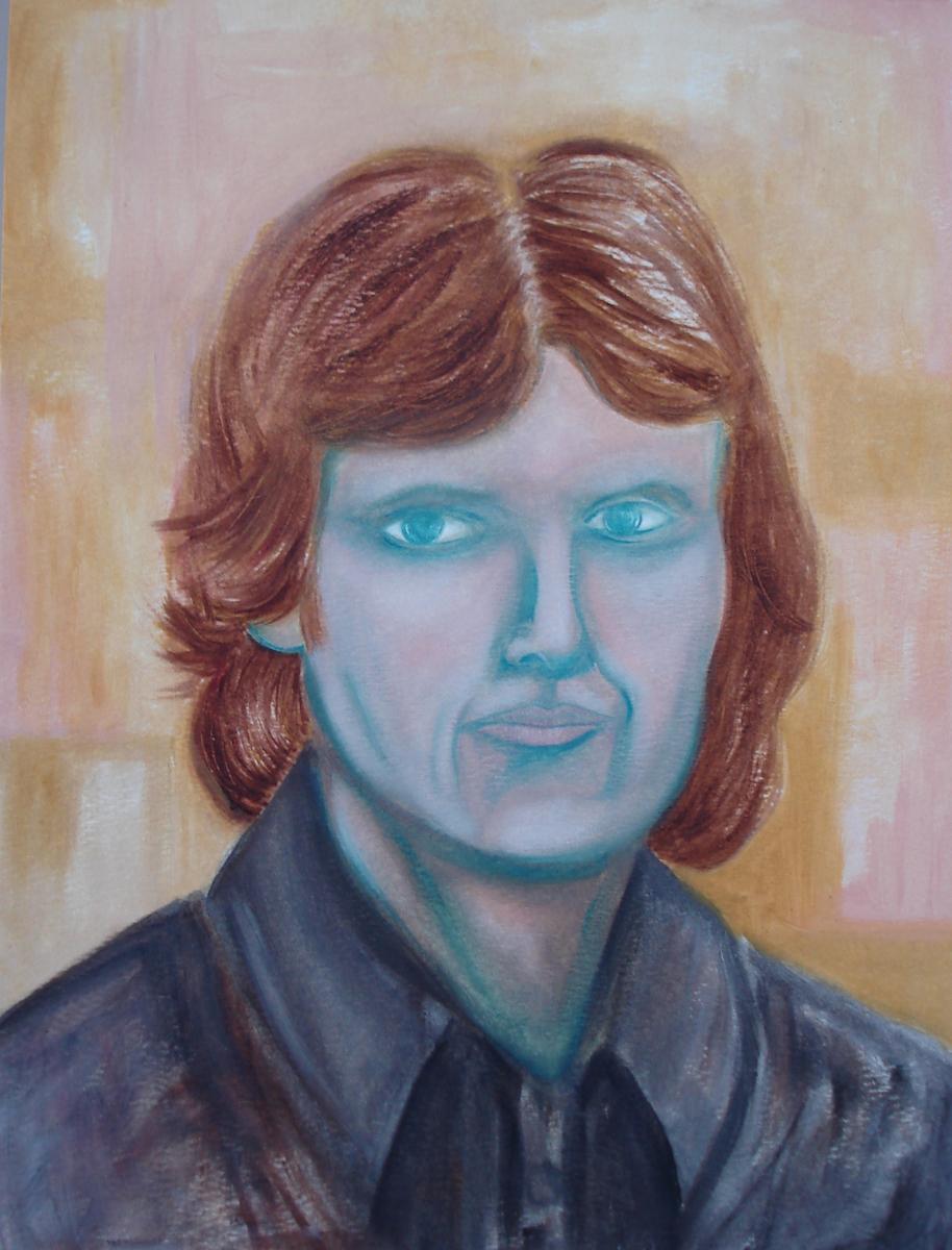 Blue Eyes Self-Portrait (large view)