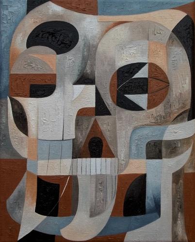 Abstract Skull #86