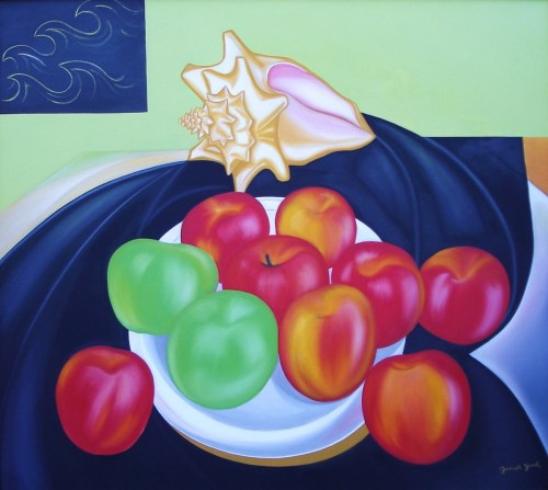 Still Life with Fuji Apples