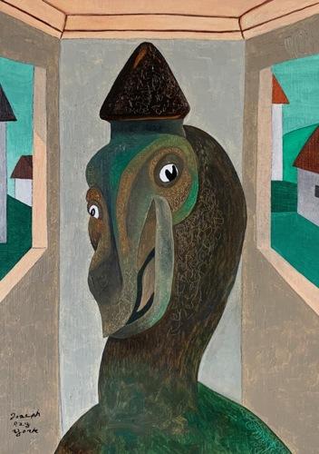 Strange Bird #95 (Splendid Isolation) by Joseph Ray York