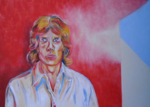 Self-Portrait (An Image of Insane Terror) by Joseph Ray York
