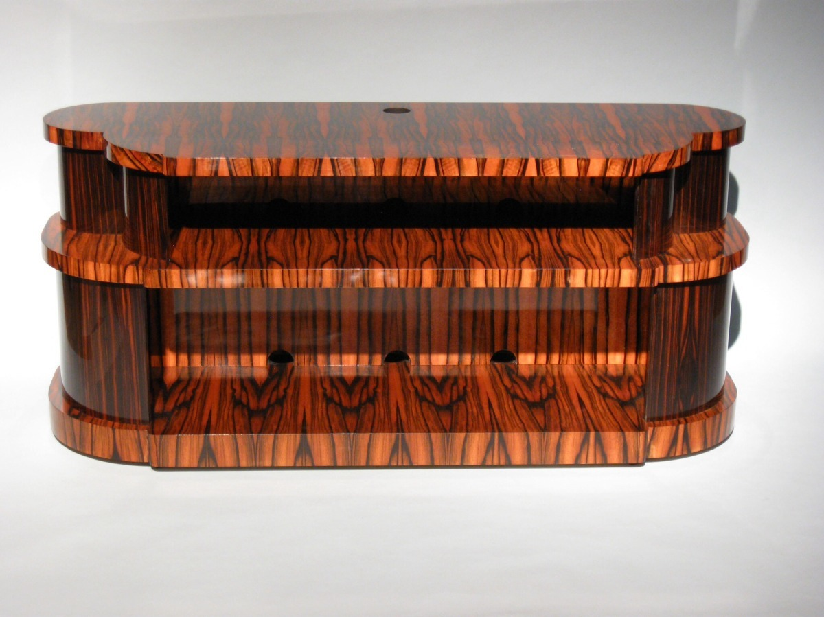 Macassar Ebony Entertainment Unit (large view)