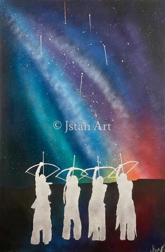 Arrow Prayers by Jstan Art Gallery