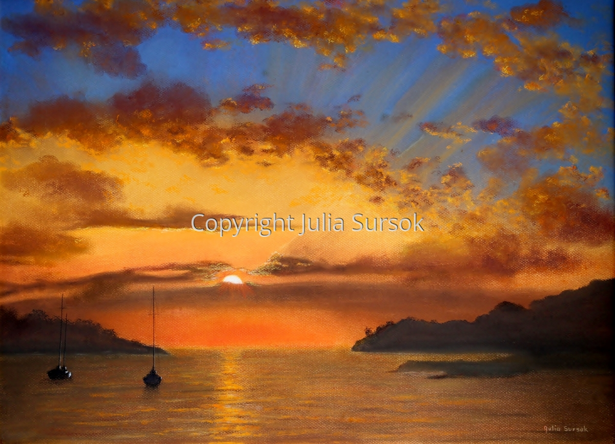 Sunset Blaze (large view)